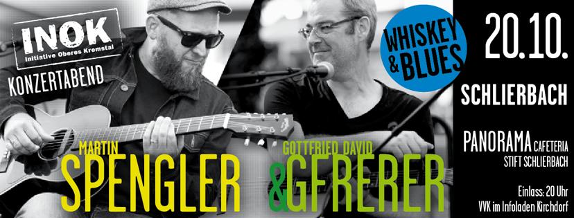 zwei sympathische gitarristen gottfried david gferer und martin spengler